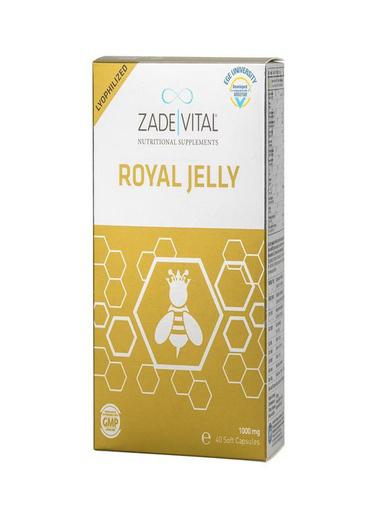 Zade Vital Zade Vital Arı Sütü 1000mg 40 Kapsül Renksiz
